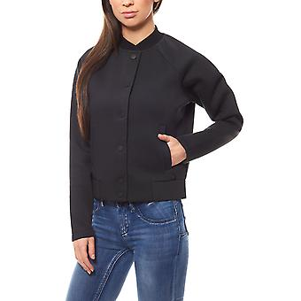 Lee bonded bomber women's Blazer black Softshell