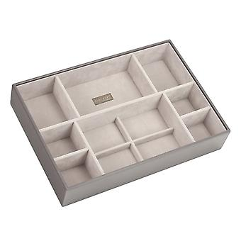 Mink & Grey Supersize Deep 11 Section Jewellery Tray