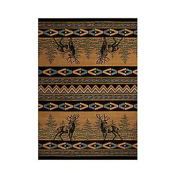 United Weavers Mule Deer Lodge Style Carpet Runner 31 X 88 Inches