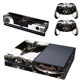REYTID Batman Knight Xbox One Console Skin / Sticker + 2 x Controller Decals & Kinect Wrap - Full Set - Compatible with Microsoft XB1