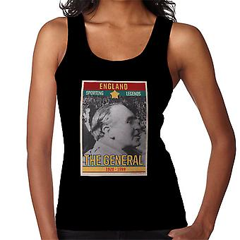 Sporting Legends Poster England Alf Ramsey The General 1966 World Cup Final Women's Vest