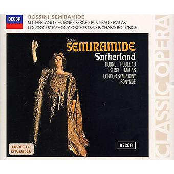 G. Rossini - Rossini : Importation USA Semiramide [CD]
