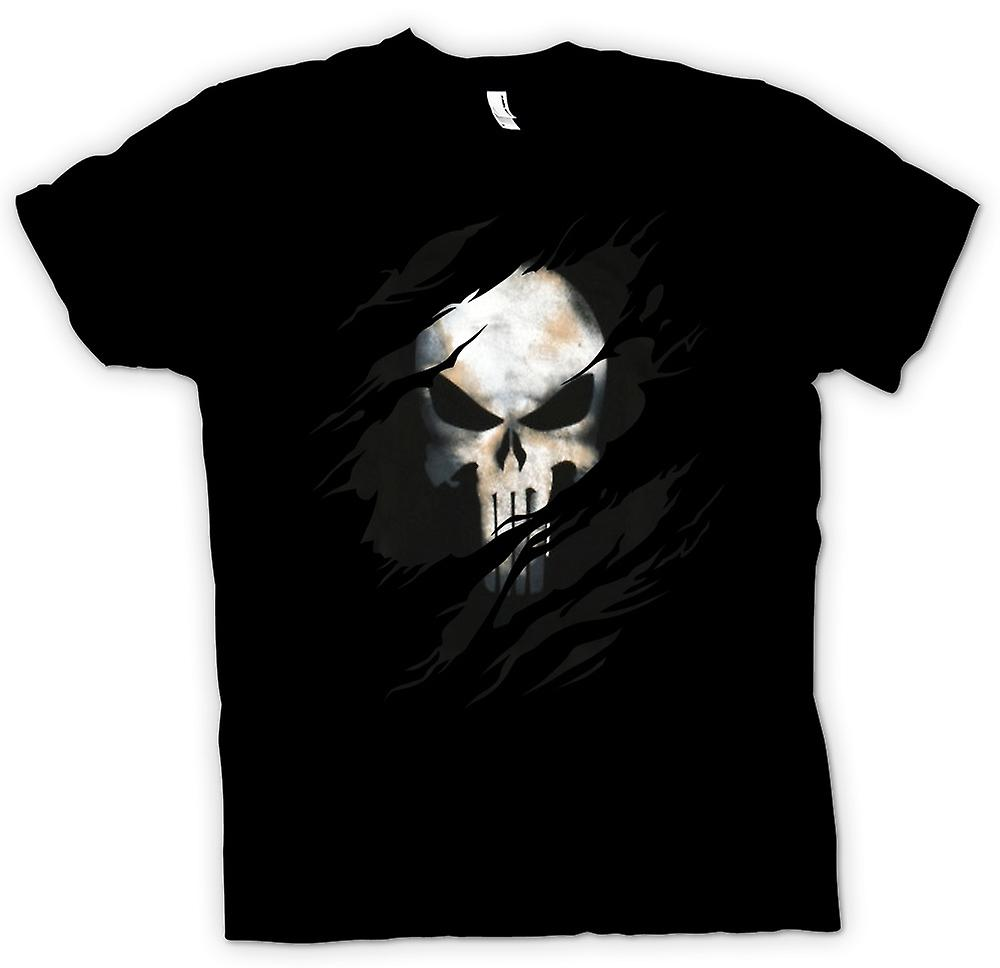T-shirt - The Punisher - strappato effetto