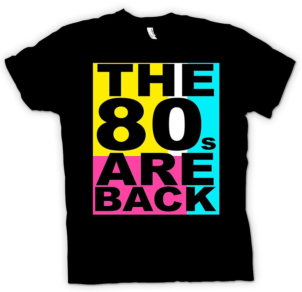 Kids T-shirt -  The 80s Are Back - Funny