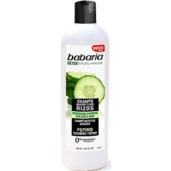 Babaria Cucumber Nourishing Shampoo – For Curly Hair 400 ml