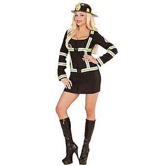 Brannmann Girl kostyme
