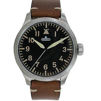 Aristo men's watch automatic Bracelet Watch 7 H 96 vintage 47 leather