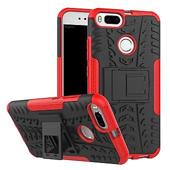 NEX style hybrid case 2 piece outdoor red for Xiaomi MI MI 5 X A1 Pocket sleeve cover protection