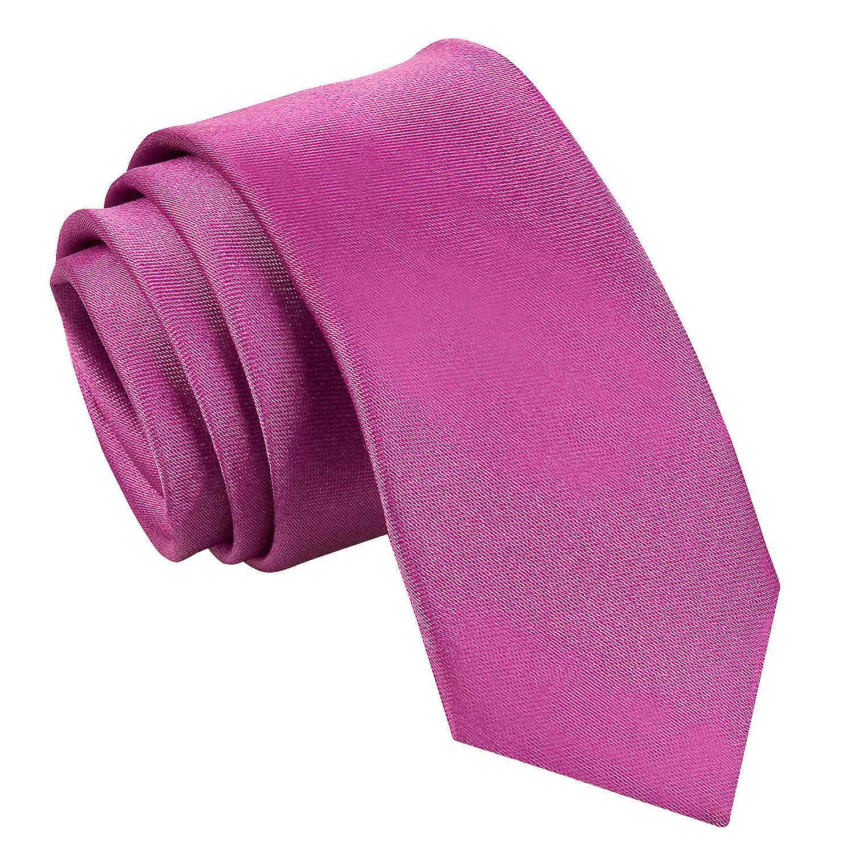 Mulberry Plain Satin Skinny Tie