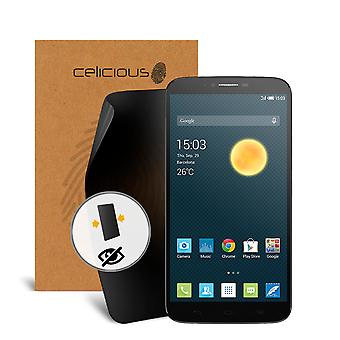 Celicious Privacy 2-Way Visual Black Out Screen Protector for Alcatel Onetouch Hero 2