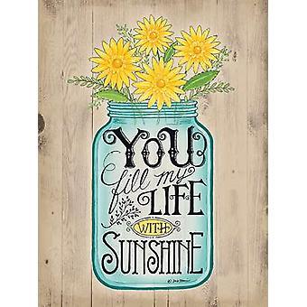 Sunshine Poster Print by Deb Strain (12 x 16)