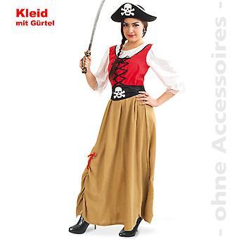 Pirate marin pirate Lady costume costume Mesdames
