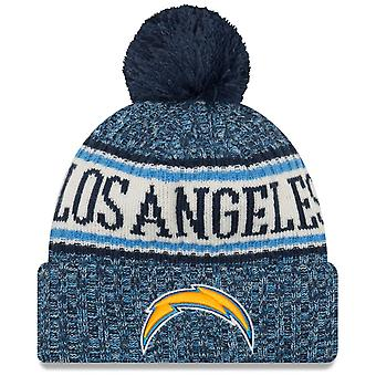 New era NFL sideline 2018 Bobble hat of Los Angeles Chargers