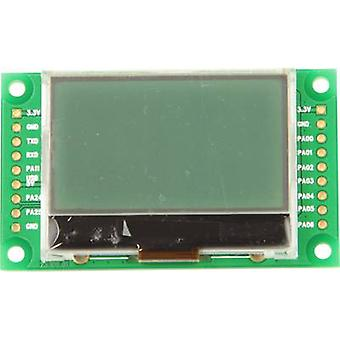 LCD Black Light green 128 x 64 pix (W x H x D) 49.1 x 5.5 x 25 m