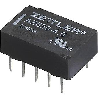 PCB relays 24 Vdc 1 A 2 change-overs Zettler Electronics