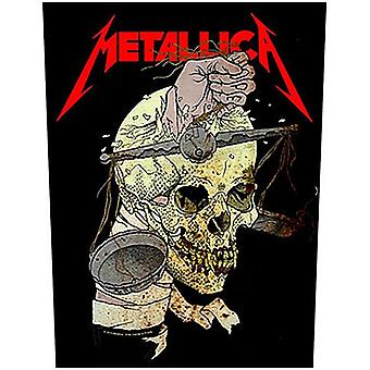 Metallica Harvester Of Sorrow Jumbo Sized Sew-On Cloth Backpatch 360Mm X 300Mm