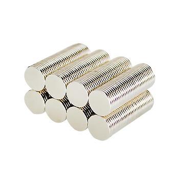 Neodym Magnet 10 x 1 mm Scheibe N35 - 10 Stück
