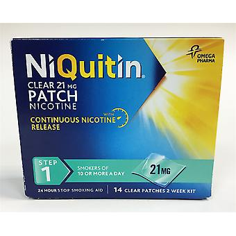 NiQuitin patchs 21mg clair - 14