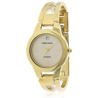 Anne Klein Gold-Tone Ladies Watch AK-2710BMGB