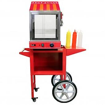 KuKoo Commercial Hot Dog Steamer & Cart