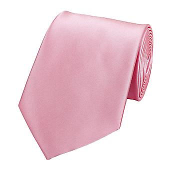 Schlips Krawatte Krawatten Binder 8cm rosa Fabio Farini