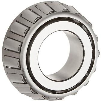 Timken 02876 Tapered Roller Bearing, Single Cone, Standard Tolerance, Straight Bore, Steel, Inch, 1.3125