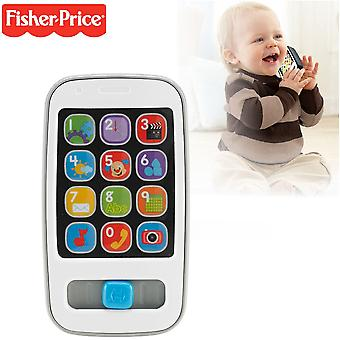 Fisher-Price Le & lære telefon grå