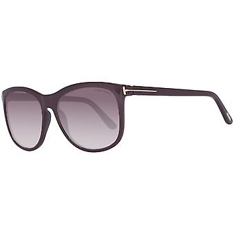 Tom Ford women's sunglasses course Burgundy