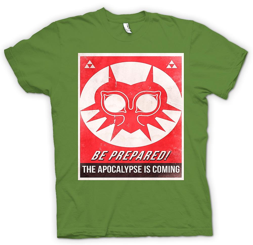 Mens t-shirt - preparatevi, sta arrivando la Apocolypse