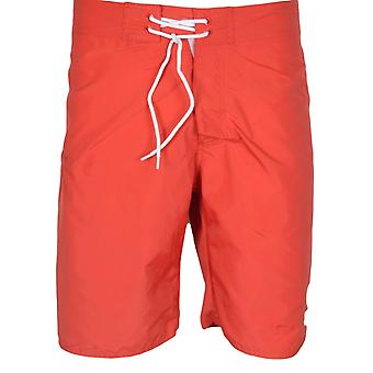 Franklin & Marshall Ua950 Beachwear Unisex Fire Red zwemmen Shorts