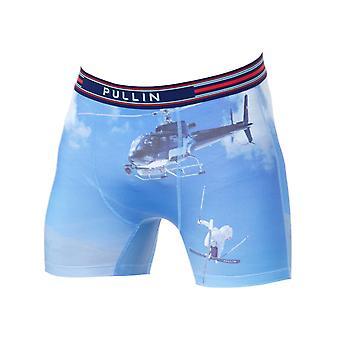 Pull-In Blue-Navy Blue Sky Boxer Shorts