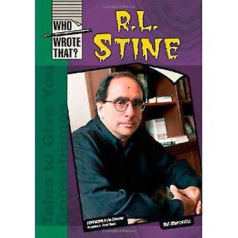 R.L. Stine, (kto napisał, że), (który napisał że?)