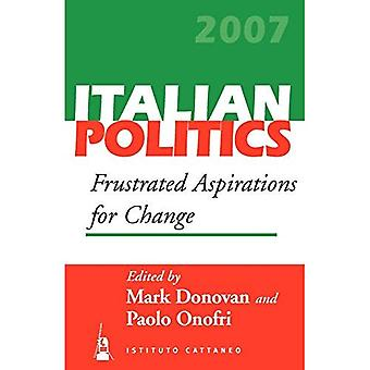 Frustrated Aspirations for Change: 23 (Italian Politics)