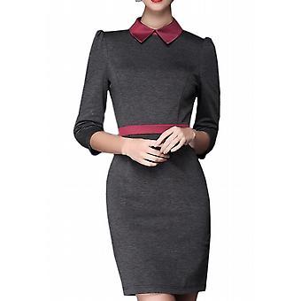 Waooh - kjole med krave og bælte Avon