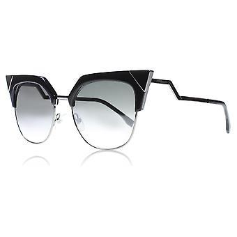 Fendi FF0149/S KKLIC Black 0149/S Cats Eyes Sunglasses Lens Category 2 Lens Mirrored Size 54mm