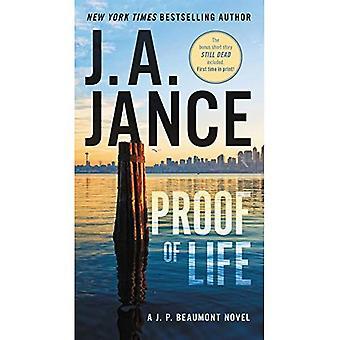 Preuve de la vie: un roman de J. P. Beaumont