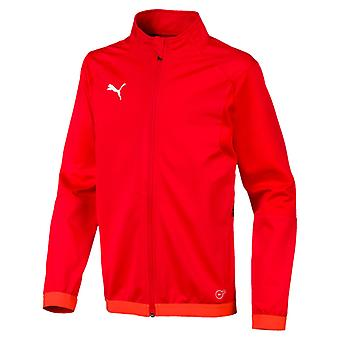 PUMA League training Jr kids jacket red white