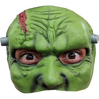 Franky Latex Halbmaske für Halloween