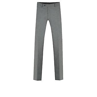 Dobell Mens leichten grauen Anzug Hose Slim Fit
