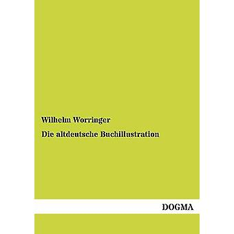 Sterven altdeutsche Buchillustration door Worringer & Wilhelm