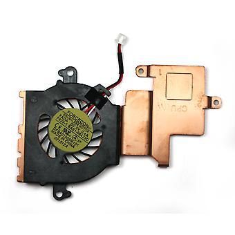 Samsung N210 Plus kompatibel Laptop Fan med Heatsink