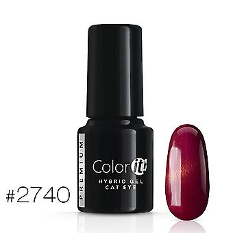 Gellack - Color IT - Premium - Cat Eye - *2740 UV-gel/LED