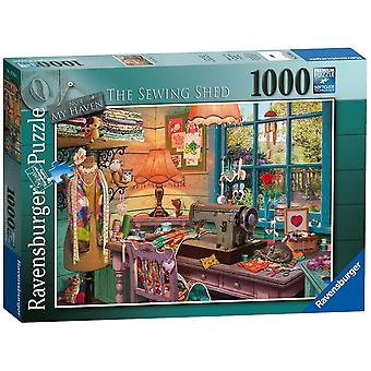 Ravensburger My Haven The Sewing Shed 1000 Piece Puzzle
