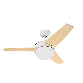 Ceiling Fan Windy White with Light and Remote Control