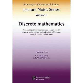 Discrete Mathematics - Proceedings of the International Conference on