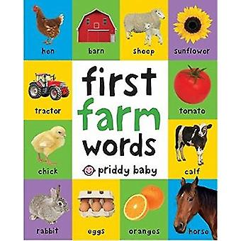 First 100 Soft to Touch Farm Words by Roger Priddy - 9781783414673 Bo
