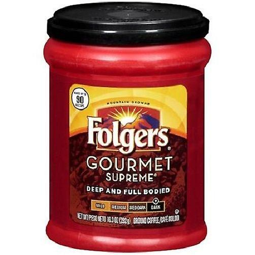 Folgers Gourmet Supreme Deep and Full Bodied Ground Coffee