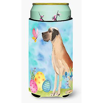 Fawn Natural Great Dane Easter Tall Boy Beverage Insulator Hugger