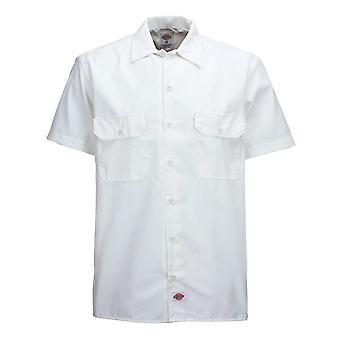 Dickies 1574 Short Sleeve Work Shirt White