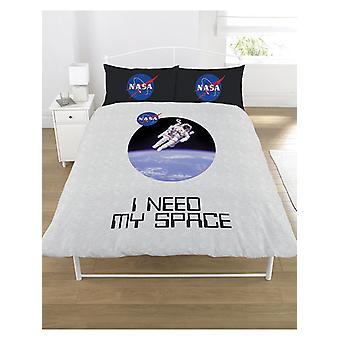 NASA ich brauche meinen Raum Bettbezug und Kissenbezug Set